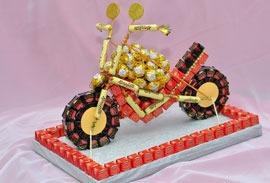 Фото как сделать подарок с конфетами